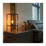 Modern Table Lamp 1 Black - Big Cage