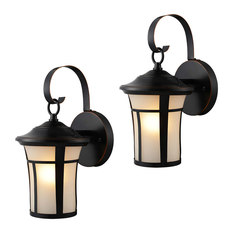 Outdoor Light Fixtures, Set Of 2, Oil Rubbed Bronze   Outdoor Wall Lights  And