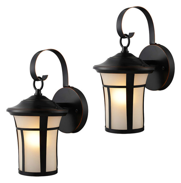 Outdoor light fixtures set of 2 oil rubbed bronze traditional outdoor light fixtures set of 2 oil rubbed bronze mozeypictures Image collections