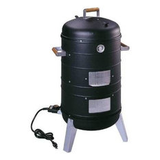 2, 1 Electric Water Smoker, Converts into a Lock 'N Go Grill