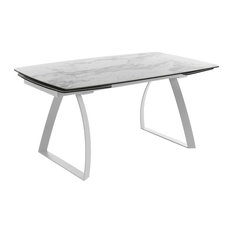 Helix Extendable Table, Marble