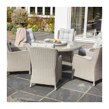 Astor 6 Seat Round Dining Set