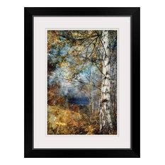 """""""Kootenay Fall"""" Black Framed Art Print, 20""""x26""""x1"""""""