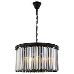 Transitional Chandeliers by Elegant Furniture & Lighting