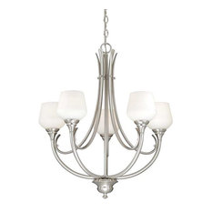 Vaxcel Lighting H0125 Grafton 5 Light Chandelier