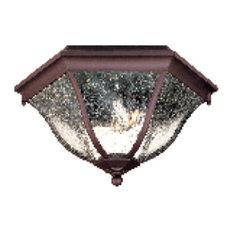 Acclaim Lighting 5615 Flushmounts 2 Light Outdoor Ceiling Fixture - Bronze