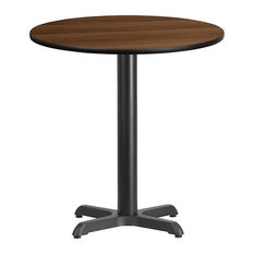 Flash Furniture 24'' Round Walnut Laminate Table