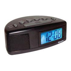Westclox - Westclox Super Loud LCD Alarm Clock With Blue Backlight - Alarm Clocks