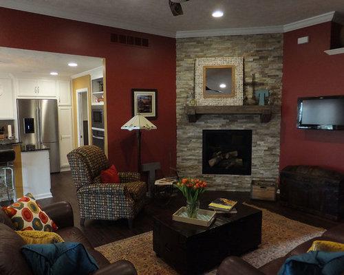 Ideas para salas de estar fotos de salas de estar con for Sala de estar oscura