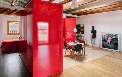 Visita privada: Un ático en Madrid que atrae la luz