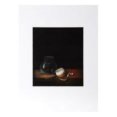 Tomoe Yokoi, Goldfish and Lemon, Mezzotint