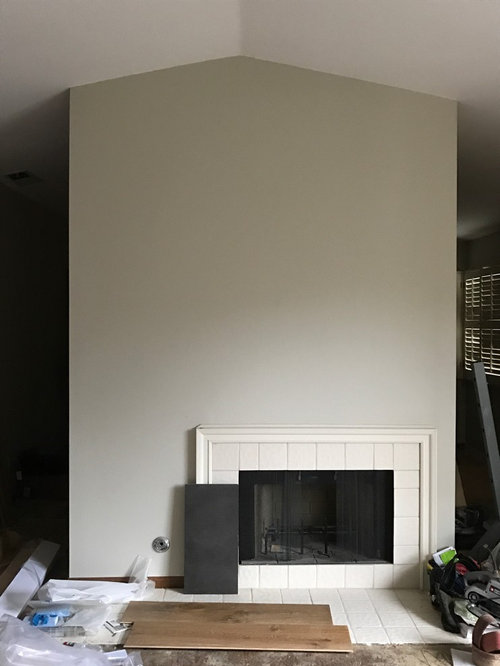 Fireplace Remodel Facelift Help Needed Quickly