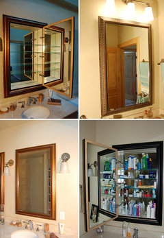 Does anyone use medicine cabinets with mirrors anymore?