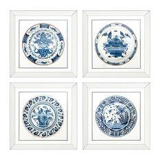 Eichholtz Imperial China Framed Prints, 4-Piece Set