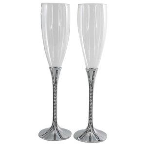 Precious Champagne Flutes, Set of 2