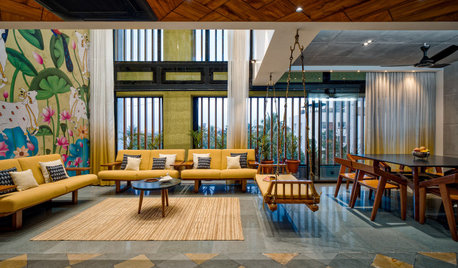 Pune Houzz: A Mod Penthouse With a Gujarati Flair