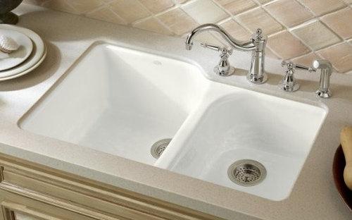 ... Kohler Kitchen Sinks On Kohler Shower Colors, Kohler Smart Divide  Undermount Sink, Kohler Whitehaven ...