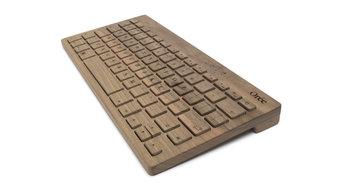 Designer Wooden Keyboard in Walnut