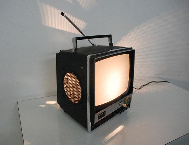 Retro Lámparas de mesa by De Bigot Enrotllat