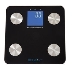 Bluestone Digital Body Fat Scale with Large LCD Display, Black