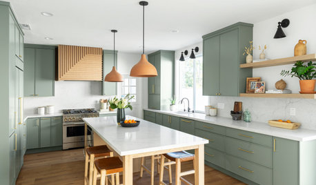 Kitchen of the Week: Green and Earth Tones Nod to Nature