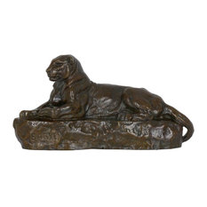 """Consigned French Bronze Sculpture after Antoine-Louis Barye, """"Panther of India,"""