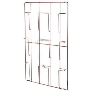 Frame-6 Magazine Rack, Copper