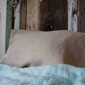 Real, Natural Linen Pillow Slip