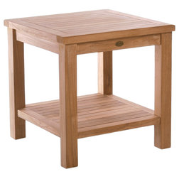 Transitional Outdoor Side Tables by Chic Teak