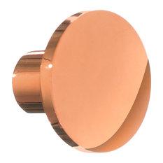 Smedbo Beslagsboden Cabinet Knob, Brushed Copper