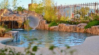 Desert oasis in Summerlin, Las Vegas