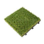 Artifical Grass Deck Tile, 9 pc Set