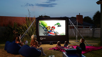 Backyard Home Theatre