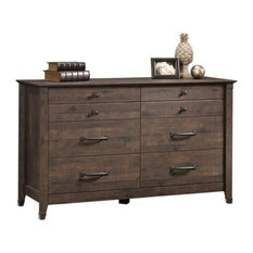Pemberly Row 6-Drawer Dresser, Coffee Oak