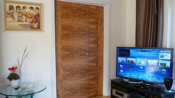 Olive Tree Veneered Doors