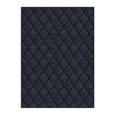 Milliken CAVETTO II Area Rug, Active Home Nylon, Empire Blue XXL:12'x16'