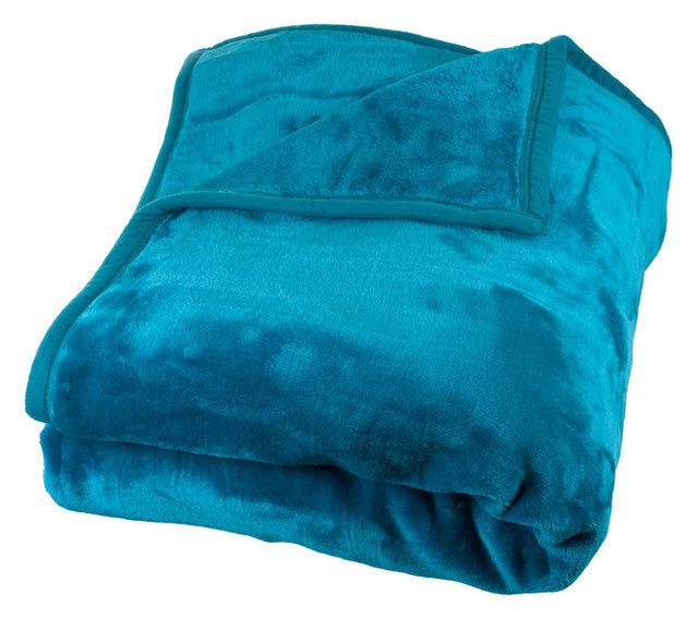 Heavy Plush Mink Blanket By Lavish Home Contemporary