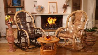 Гнуто-плетеная мебель