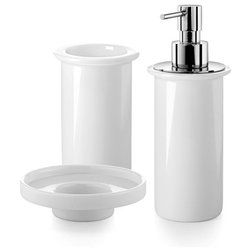 Fancy Contemporary Bathroom Accessory Sets by Modo Bath