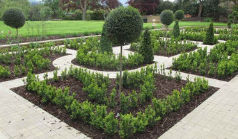 Another section of knot garden