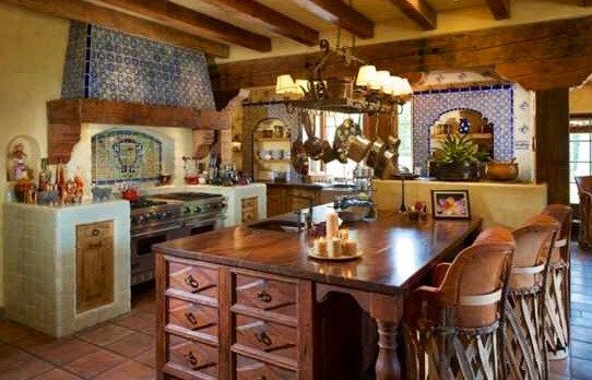 Rancho Santa Fe | Hacienda Kitchen