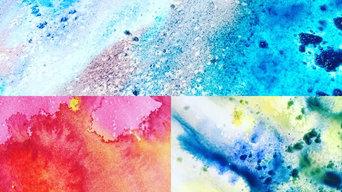 Watercolour Earth Series