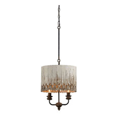 50 most popular pendant lights with a wood shade for 2018 houzz out of the woodwork designs tessa pendant light pendant lighting aloadofball Gallery
