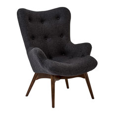 Poly and Bark Auzzie Lounge Chair, Gray