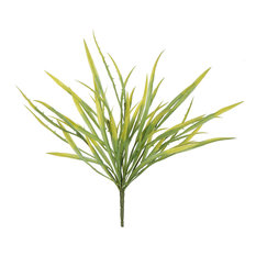 "18"" Green Spiked Grass Spray, Pack of 2"