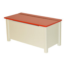 Emma Painted Toy Box, Red