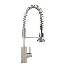 Mirabelle - Mirabelle MIRXCPS100 Presidio Pull Down Pre-Rinse Kitchen Faucet  - Kitchen Faucets