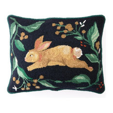 Rabbit Run Hook Pillow
