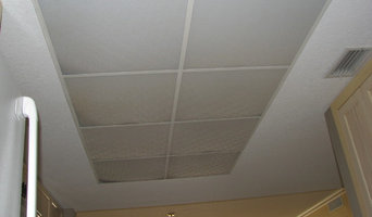 1980's style kitchen drop ceiling lighting to a custom lighted tray ceiling