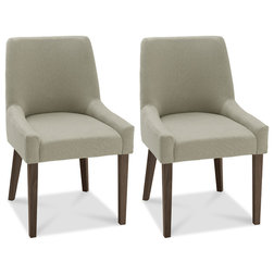 Modern Dining Chairs by Houzz